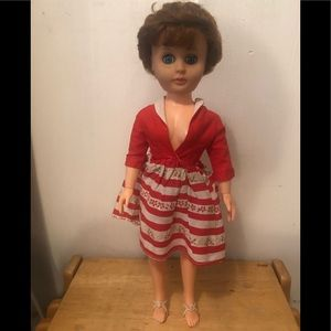 Vintage Evergreen Fashion Doll by Evergreen # 1020